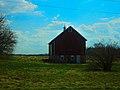 Barn West of Merrimac - panoramio.jpg