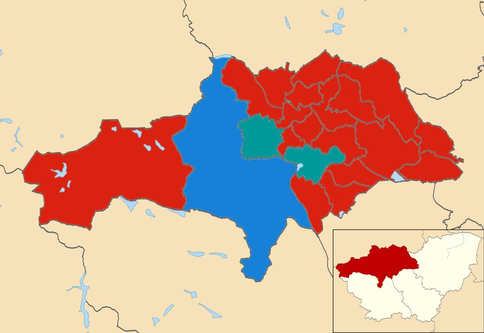 Barnsley wards 2012
