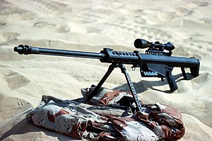 Barrett M82 - M82A1 used by the 60th Ordnance Detachment during Operation Desert Shield