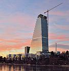 Basel - Roche Tower - Baufortschritt 22.Dezember 2014.jpg