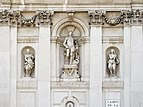 Basilica Santa Maria della Salute Dorsoduro Venezia dettaglio lato NO.jpg