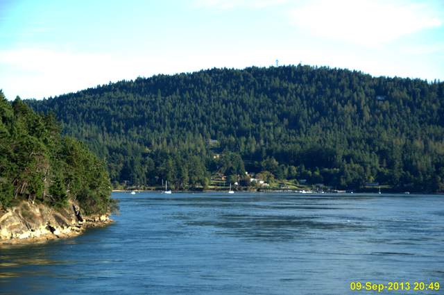 Swartz Bay To Pender Island
