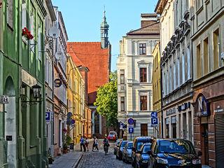 Jezuicka Street in Bydgoszcz street in Bydgoszcz, Poland