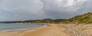 Beach on the Southern part of Karpaz, Northern Cyprus.jpg