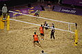 Beach volleyball at the 2012 Summer Olympics (7925244486).jpg
