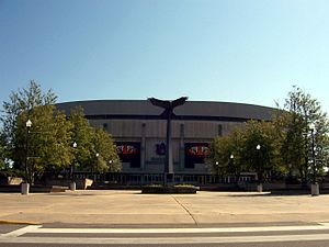 Beard–Eaves–Memorial Coliseum - Image: Beard Eaves Front 1