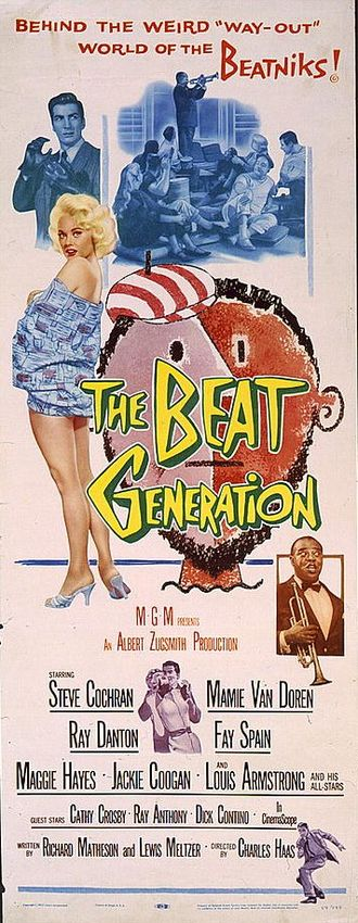 The Beat Generation - Theatrical release poster by Reynold Brown