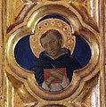 Beato angelico, pala strozzi della deposizione, con cuspidi e predella di lorenzo monaco, pilastrino dx 08.JPG