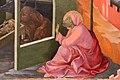 Beato angelico, pala strozzi della deposizione, con cuspidi e predella di lorenzo monaco, predella natività 03.JPG