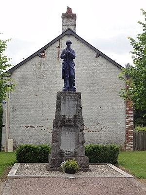 Beaumé - The War Memorial