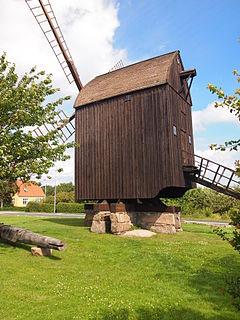 Bechs Mølle danish post mill