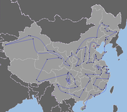 Beijing 2008 Torch Relay Route (China)