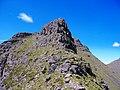 Beinn Dearg west ridge pinnacle - geograph.org.uk - 1727339.jpg