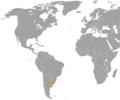Belgium Uruguay Locator.png