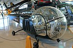 Bell HTL-3 helicopter, 1950 - Evergreen Aviation & Space Museum - McMinnville, Oregon - DSC00972.jpg