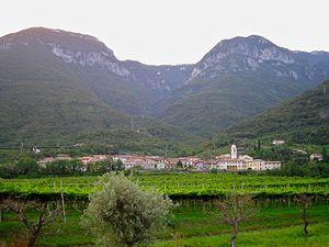 Brentino Belluno - The village of Belluno