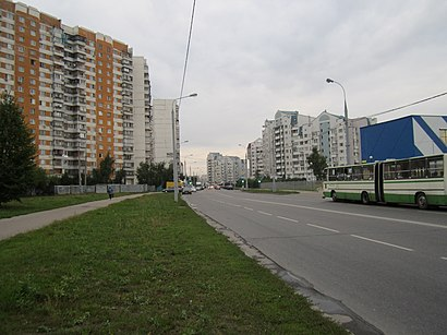 How to get to Улица Генерала Белобородова with public transit - About the place