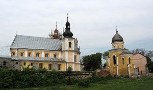 Sokal Raion - Image: Belz Monastery of dominican