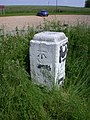 Benchmark on Milestone XI - geograph.org.uk - 832357.jpg