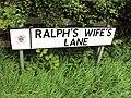 Benkid77 Ralph's Wife's Lane, Banks, Lancashire 120809.JPG
