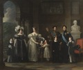 Bernadotteska Familjetavlan (Fredric Westin) - Nationalmuseum - 39759.tif