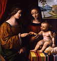 Bernardino Luini - The Mystical Marriage of Saint Catherine - Google Art Project.jpg