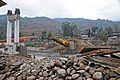 Bhutan, Punakha Dzong - new bridge under construction - panoramio.jpg