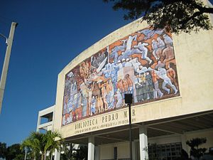 Universidad Autónoma de Santo Domingo - The Pedro Mir Library