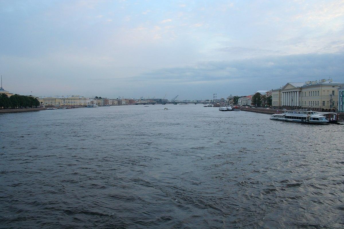 Neva: tributaries. Large tributaries of the Neva
