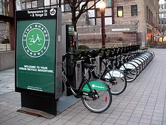 Toronto Parking Authority - Bike Share Toronto