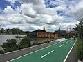 Bikeway & footpath along Brisbane River in Milton, Qld 04.JPG