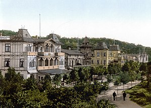 Binz - Wilhelmstraße around 1900
