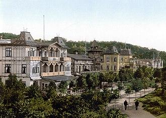 Binz - Wilhelmstraße around 1900