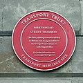 Birkenhead Street Tramway plaque, 1 Price Street.jpg