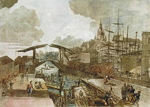 1793 in Sweden - Blå slussen 1790-tal