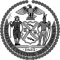Black and White Seal of New York City.png