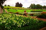Blair Castle, Walled Garden, Sundial, 2003.JPG