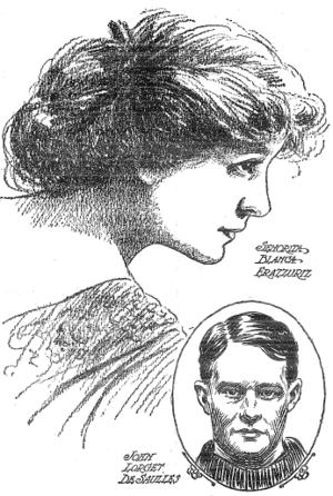 John de Saulles - Blanca Errázuriz and John de Saulles (1912)