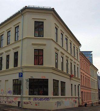 Blitz (movement) - The Blitz House after renovation.