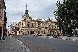 Blovice Town in Plzeň, Czech Republic