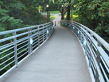 Blue Bridge, Reed College 2012.JPG