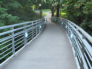 Blue Bridge (Reed College) Pedestrian and bicycle bridge in Portland, Oregon