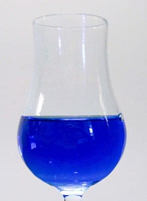 Curaçao (liqueur) - Image: Blue Curacao