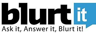 Blurtit - Image: Blurtit dot com logo