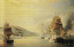 L attaque de l amiral Dupperé lors de la prise d Alger en 1830