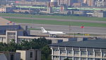 Bombardier Global Express VH-CCD Parked at Taipei Songshan Airport 20160109a.jpg