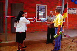 Boquerón department - Inauguration of school