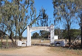 Boree Creek - Image: Boree Creek Sports Gates