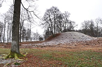 Horten - Burial mound at Borre National Park, Norway's first national park.