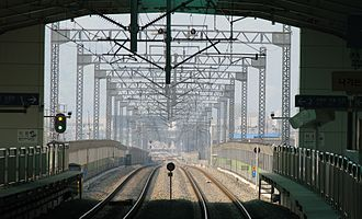 Bosan station - Image: Bosan train station north